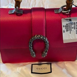 Gucci Dionysus Bamboo top handle shoulder bag